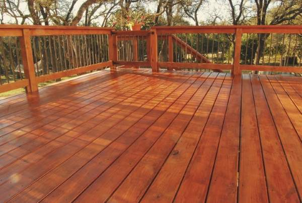 Amazing Detailed Interiors Deck Staining